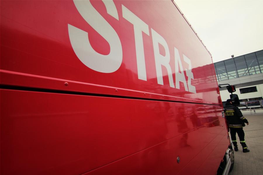 straż pożarna wóz strażacki - Archiwum