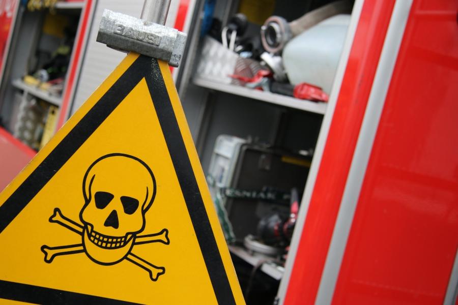 straż pożarna znak ostrzegawczy niebezpieczeństwo - Marcin Wesołowski