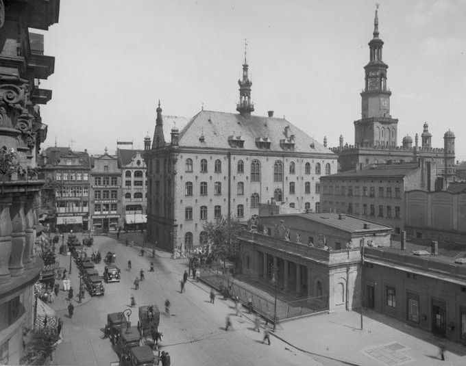 Stary Rynek w Poznaniu 1934 - archiwum prywatne