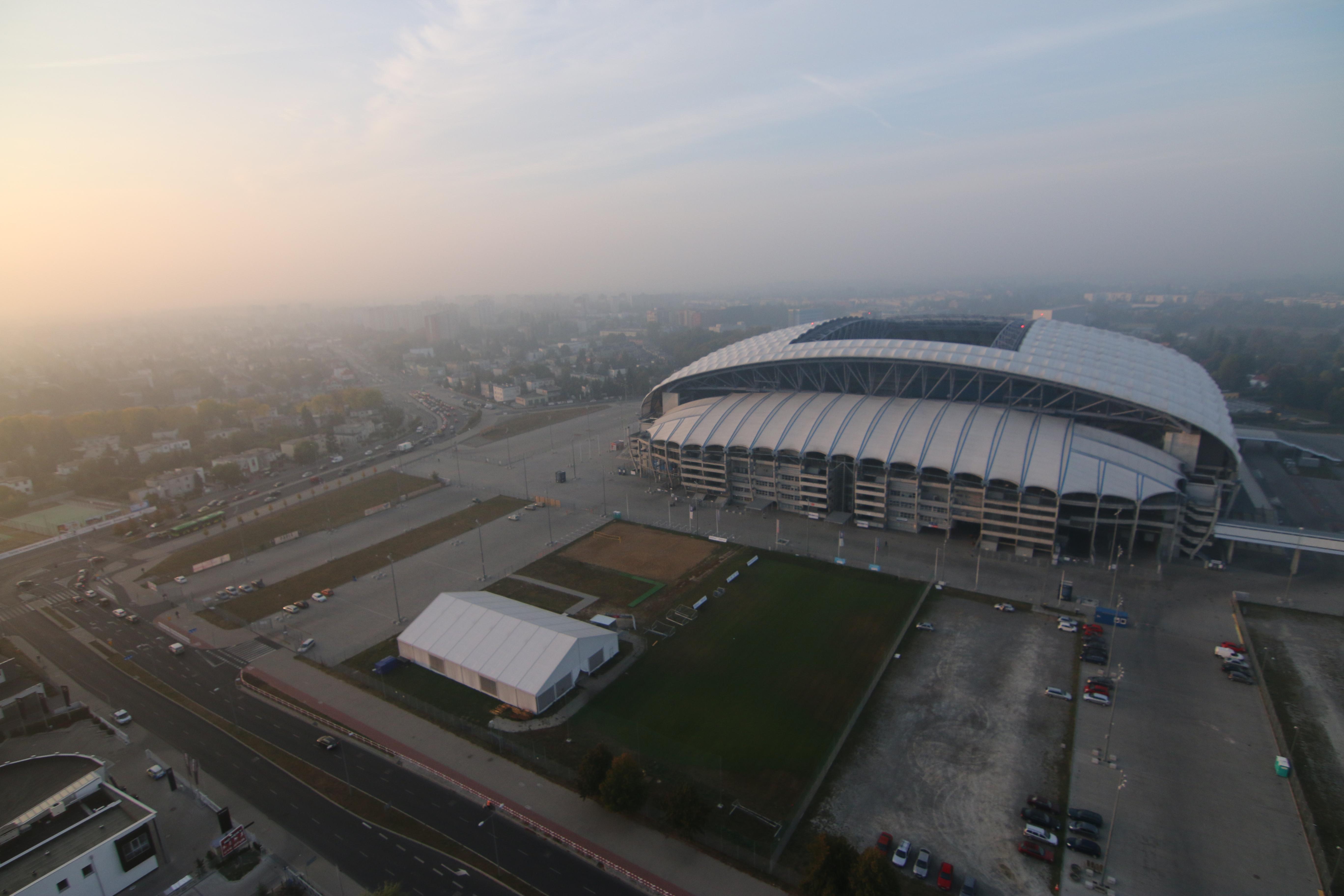 Inea stadion lecha z lotu ptaka - Marcin Wesołowski
