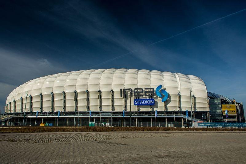 stadion miejski inea stadion - Chrzest 966
