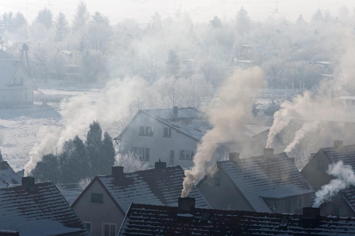 dym smog - Szymon Mazur