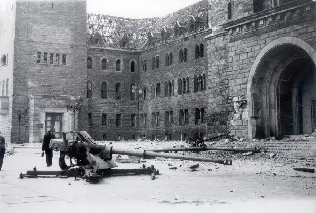 rozbite czołgi 1945
