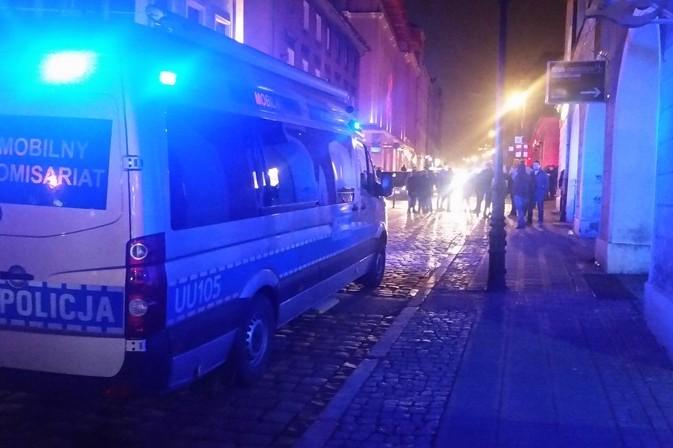 ulica wrocławska nocą bójki alkohol - Policja Poznań