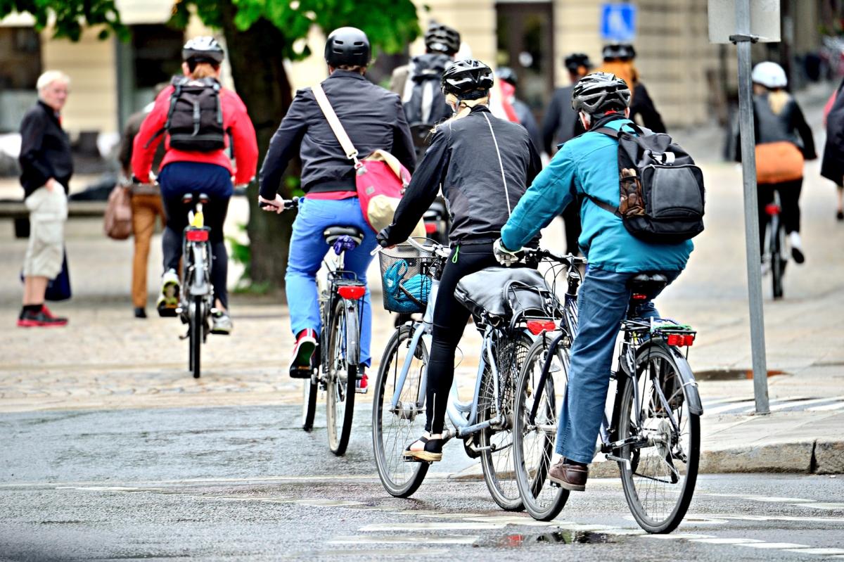 rowerzyści rowery rower - Marcin Wesołowski