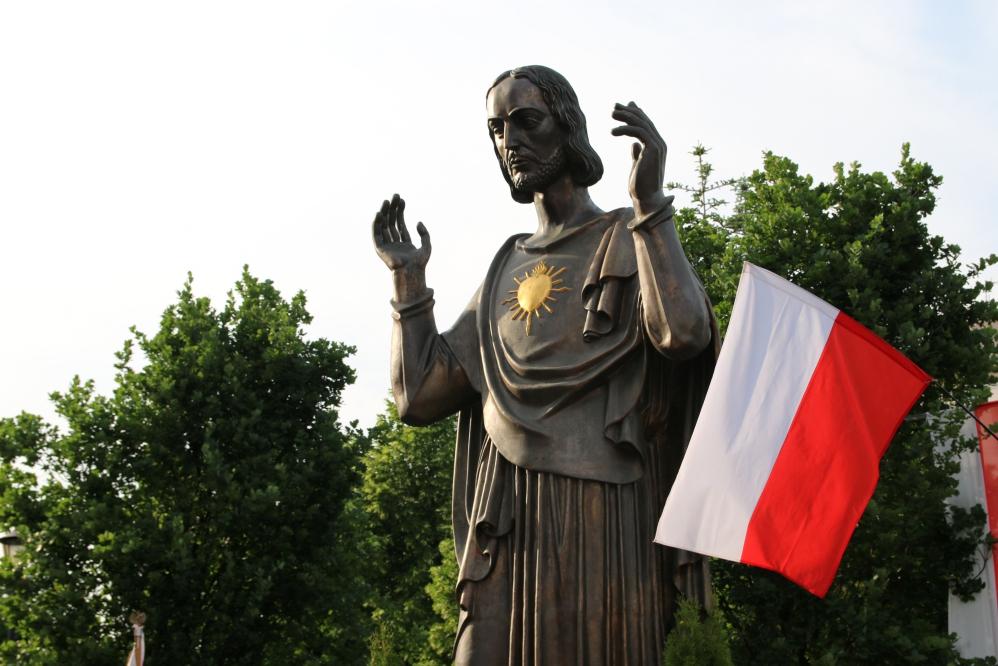 jezus figura poświęcenie pomnik wdzięczności - Anna Adamczyk