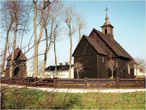 kościół drewniany - www.pttk.kalisz.pl