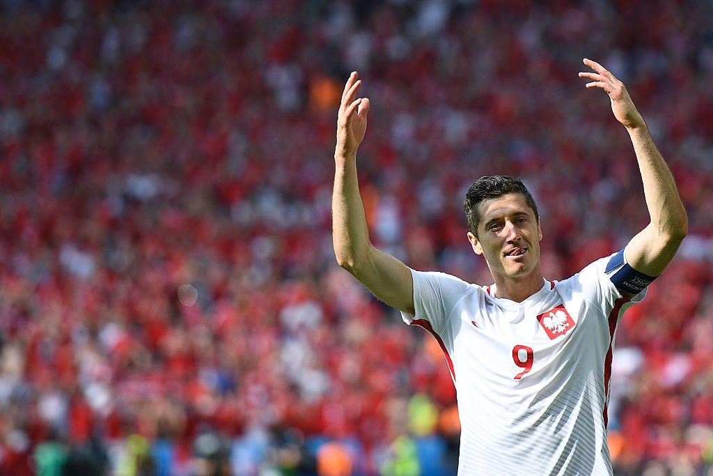 robert lewandowski gol - UEFA EURO 2016