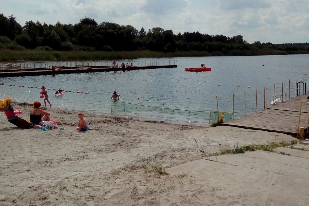 jezioro wilczynskie spadek poziomu - Emilia Chudzińska