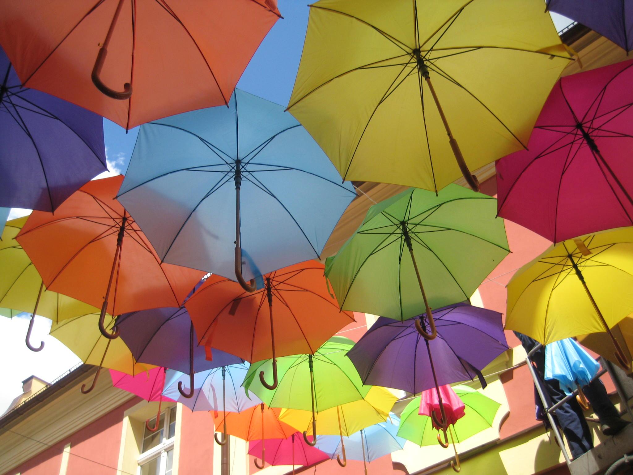 kolorowe parasole leszno - Jacek Marciniak