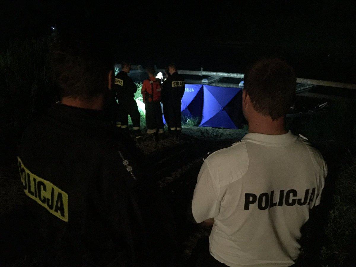 odnaleziono ciało w rzece - Andrzej Borowiak/Policja