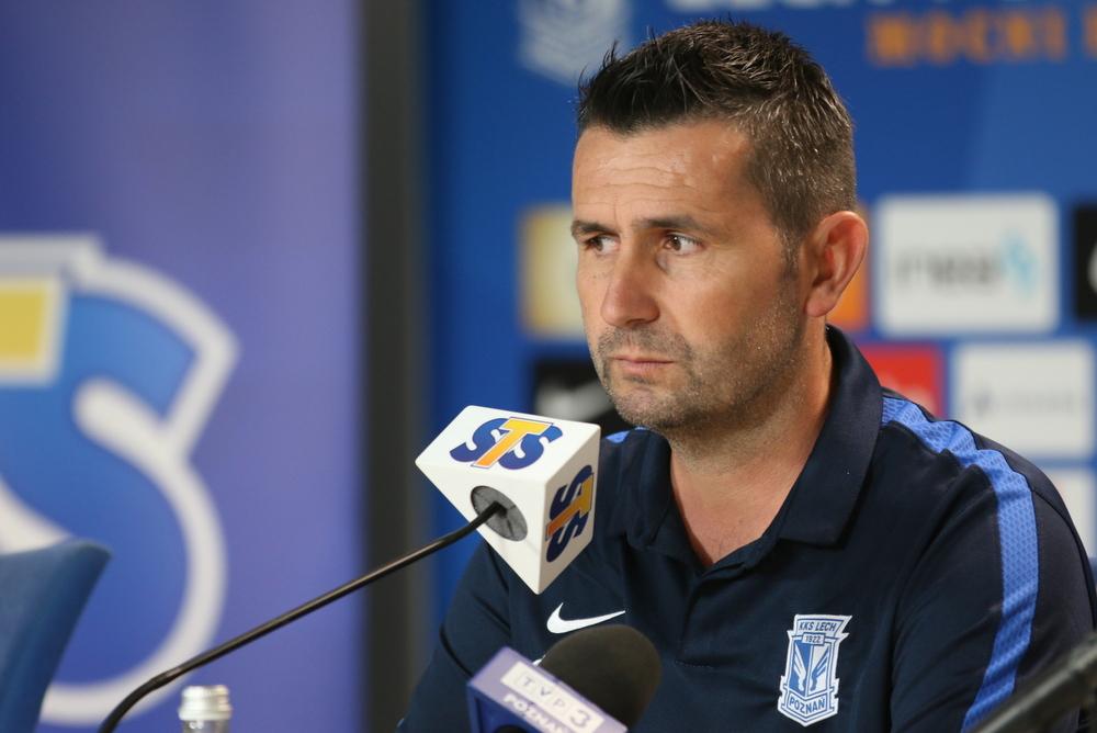 Nenad Bjelica trener - Tomasz Żmudziński