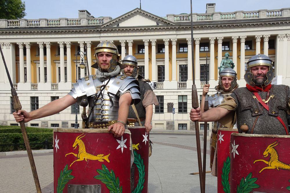 legion rzymski bibl raczynskich - Szymon Mazur