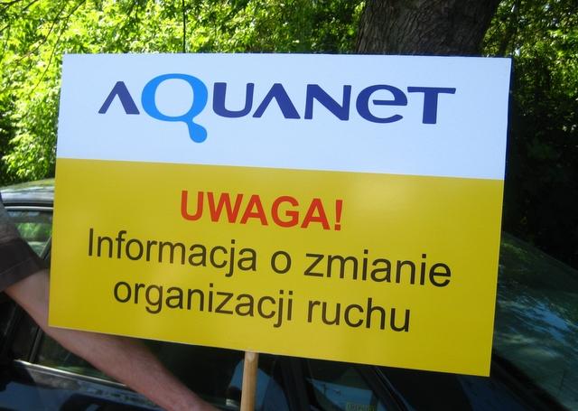 Aquanet - zmiana org. ruchu - Adam Michalkiewicz