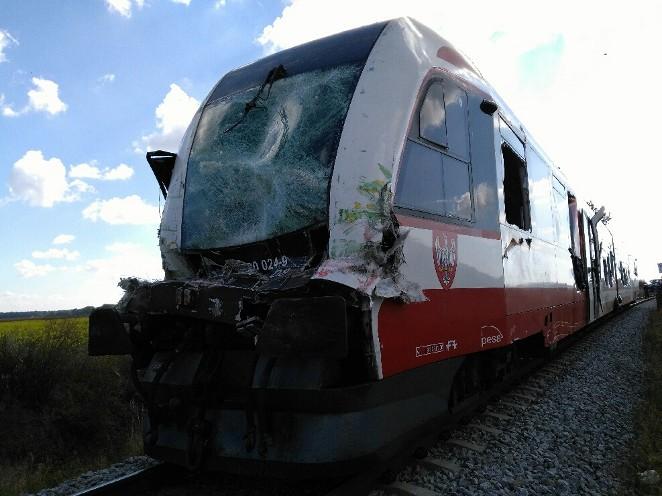 szynobus wypadek - Koleje Wielkopolskie - Koleje Wielkopolskie