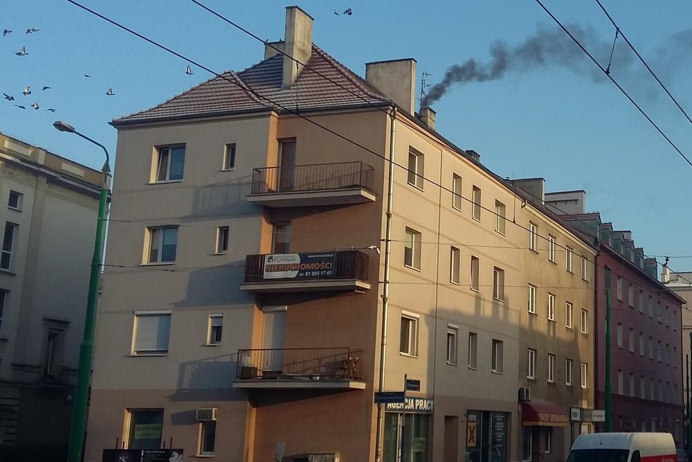 dym z komina glogowska - Szymon Mazur