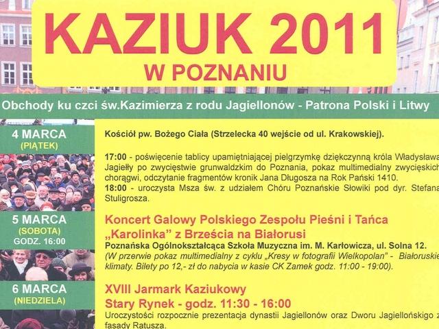 Kaziuk 2011 - Kaziuk 2011