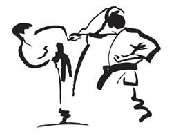 Karate WKF kwadrat
