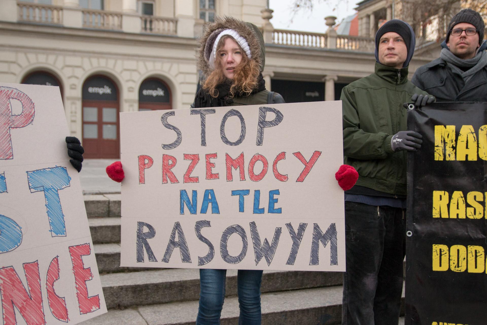 stop rasizmowi - Leon Bielewicz