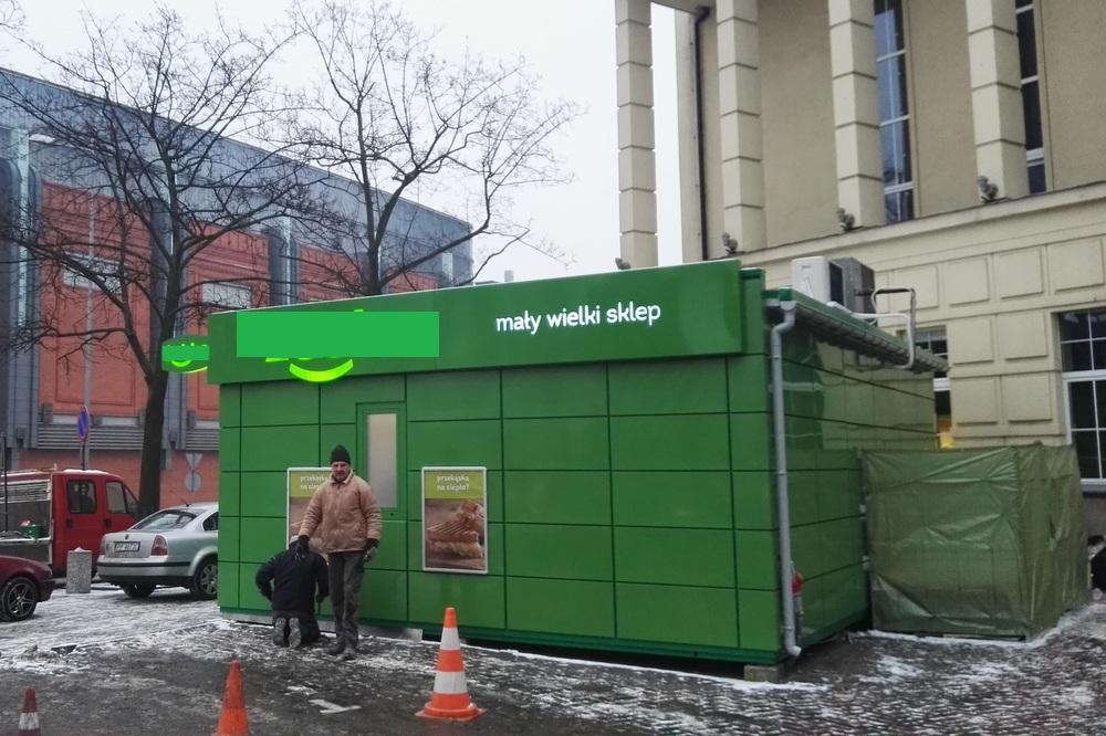 Znalezione obrazy dla zapytania sklep żabka teatr muzyczny poznań
