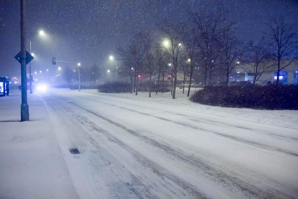 zima śnieg - Tomasz Żmudziński