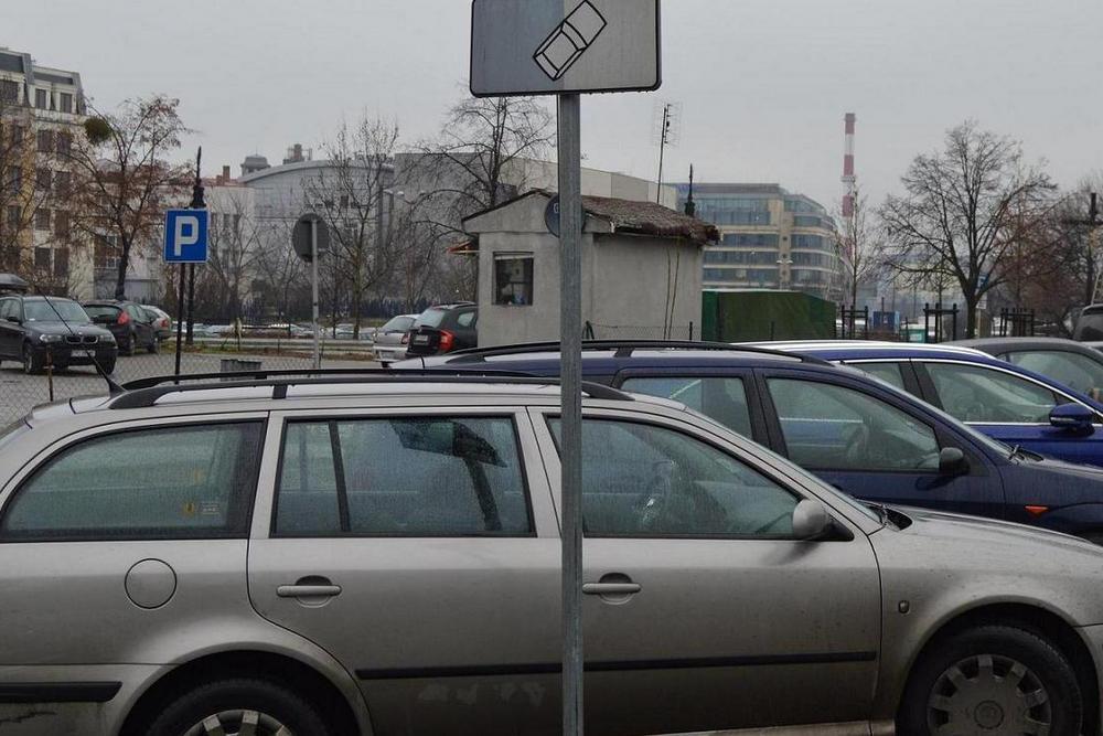 strefa parkowania auta - ZDM Poznań