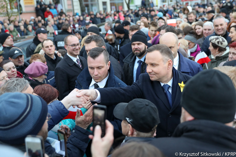prezydent andrzej duda w obornikach - Krzysztof Sitkowski/KPRP