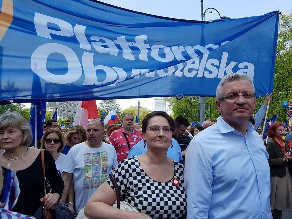 jacek jaśkowiak facebook marsz - Jacek Jaśkowiak/Facebook