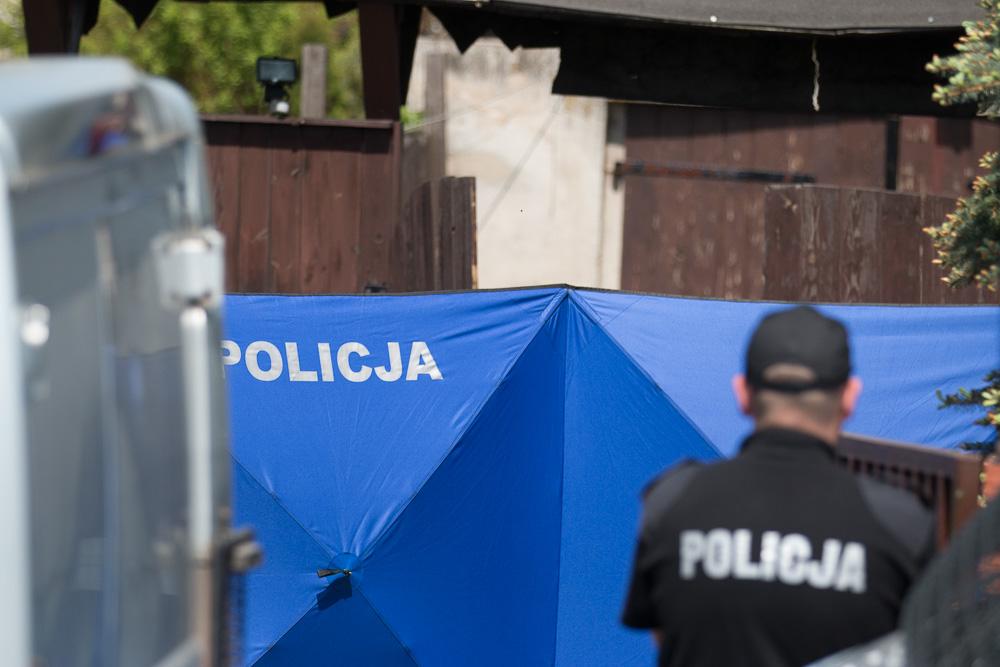 miejsce przestępstwa kryminalistyki śledczy (7) - Leon Bielewicz