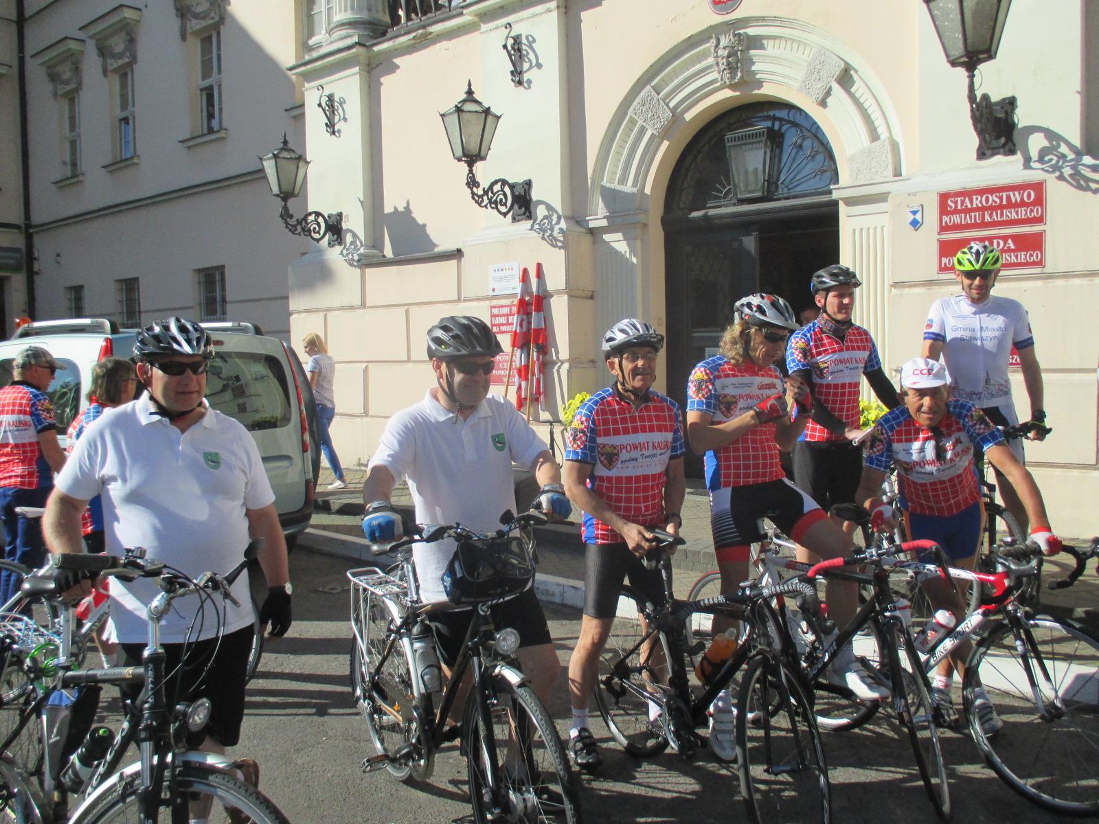 rowerzyści - Danuta Synkiewicz