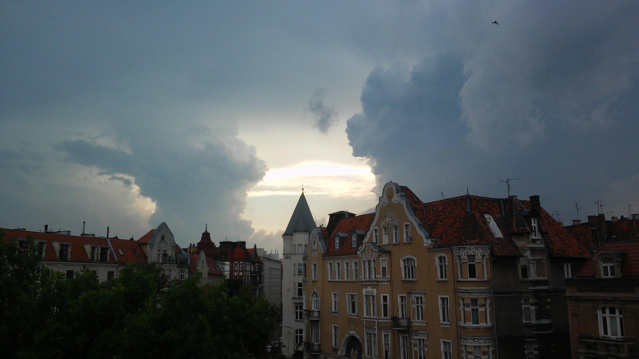burza się zbliża