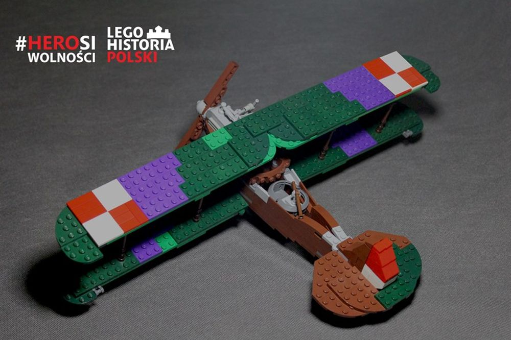lego samolot - mat. prasowe