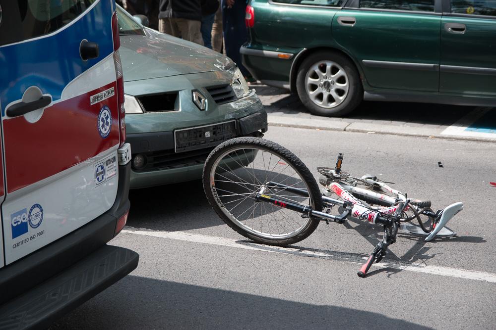 rowerzysta potrącony matejki1 - Leon Bielewicz