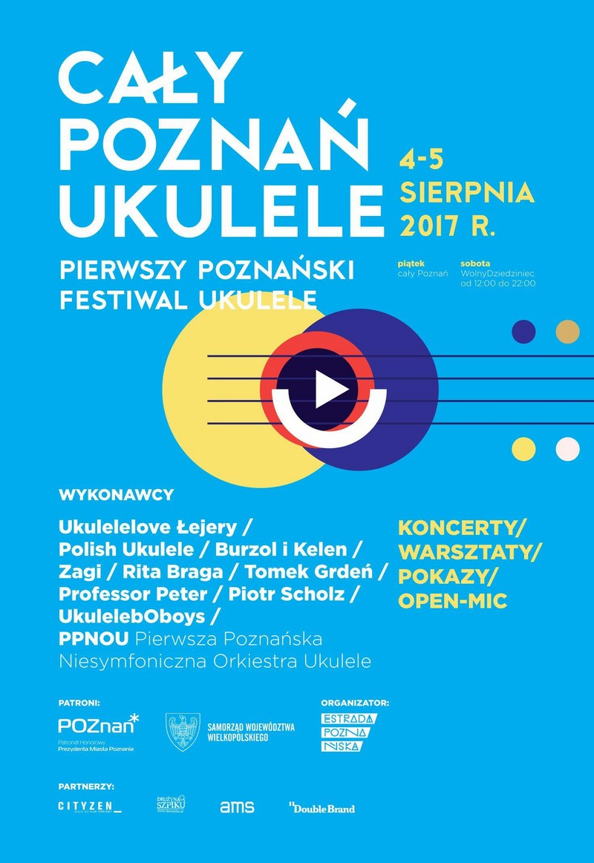 plakat ukulele - Urząd Miasta Poznania