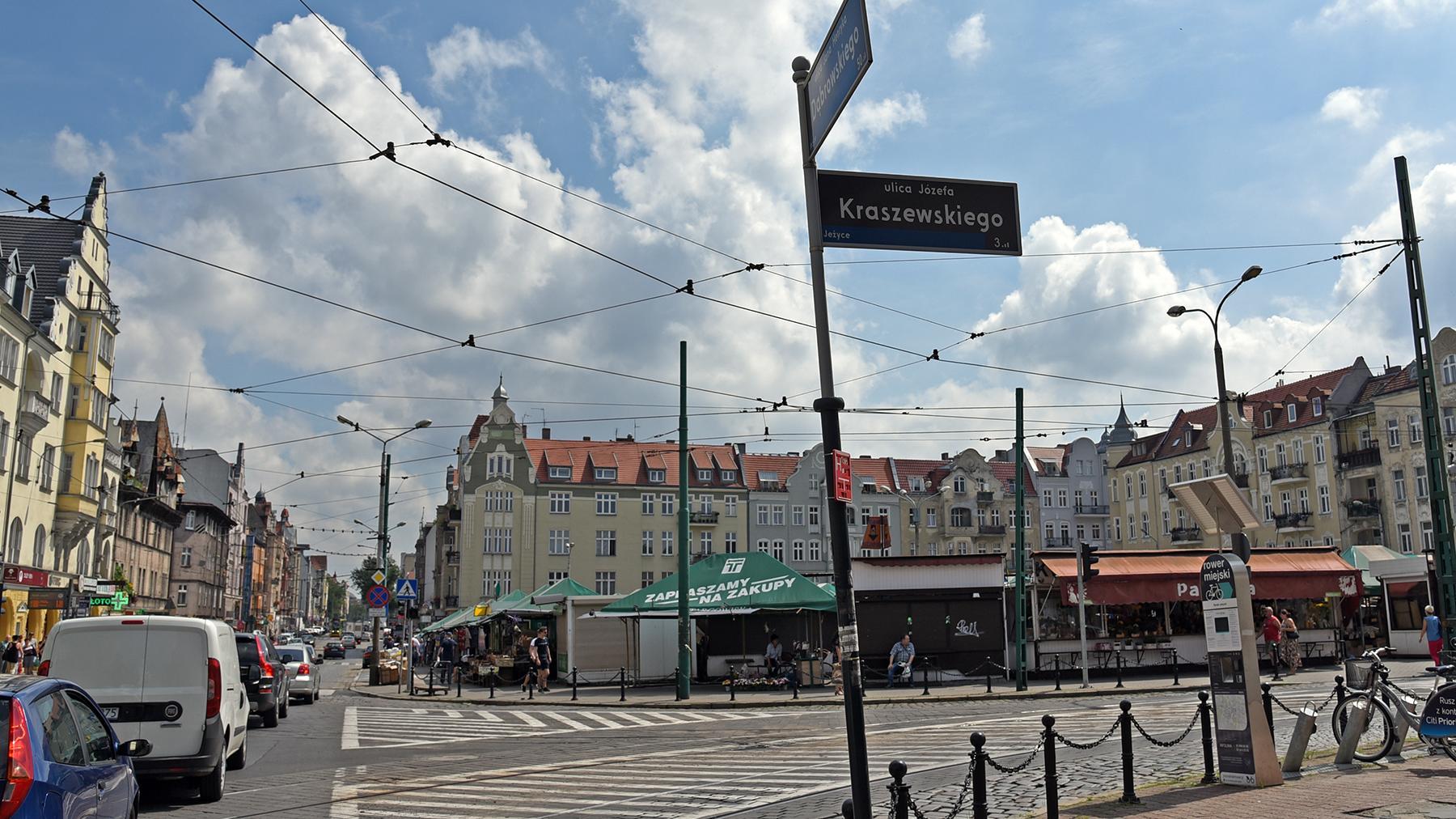 Dąbrowskiego_Kraszewskiego_Jeżyce - Urząd Miasta Poznania