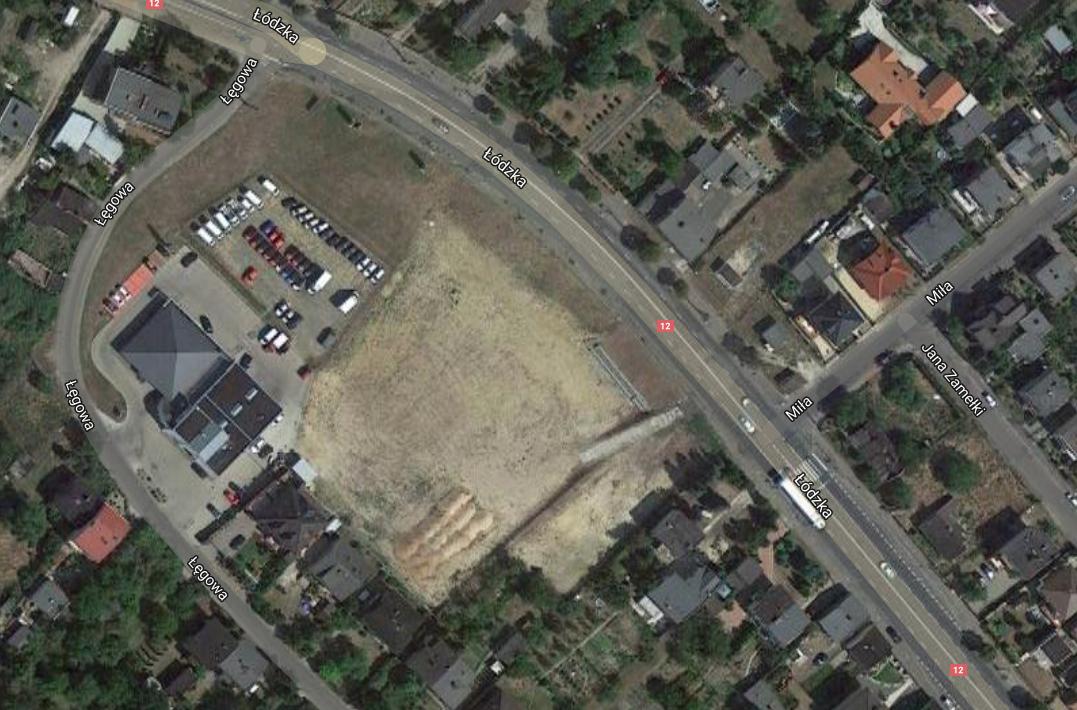 osuwisko kalisz - Mapy Google