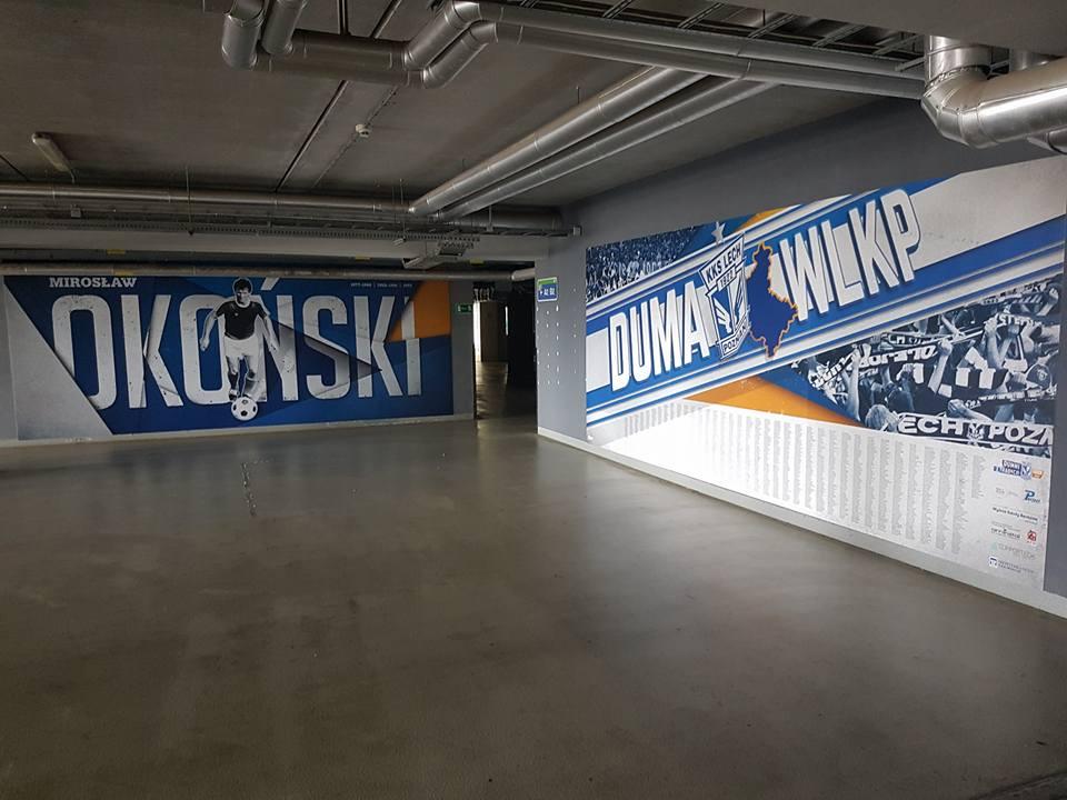 INEA Stadion malowidło Okoński - Radio Poznań