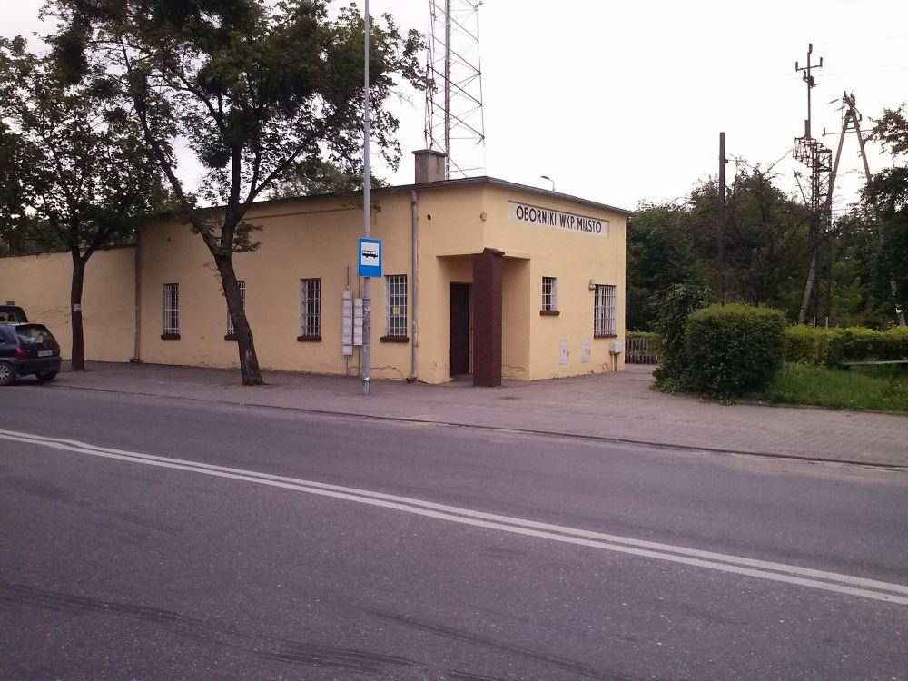 oborniki peron - Andrzej Ciborski