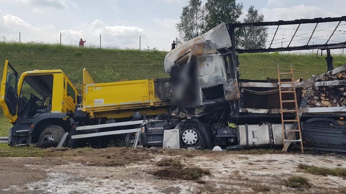 wypadek A2 Torzym - KWP w Gorzowie Wlkp.