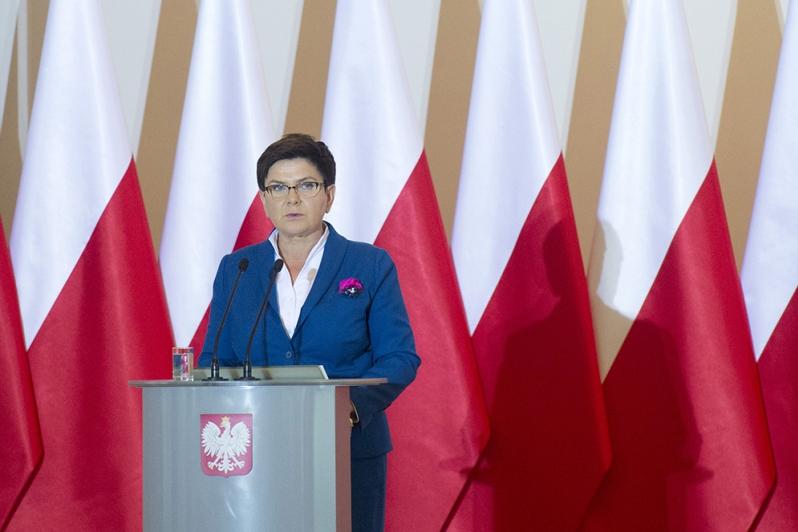 premier Szydło - P. Tracz/KPRM