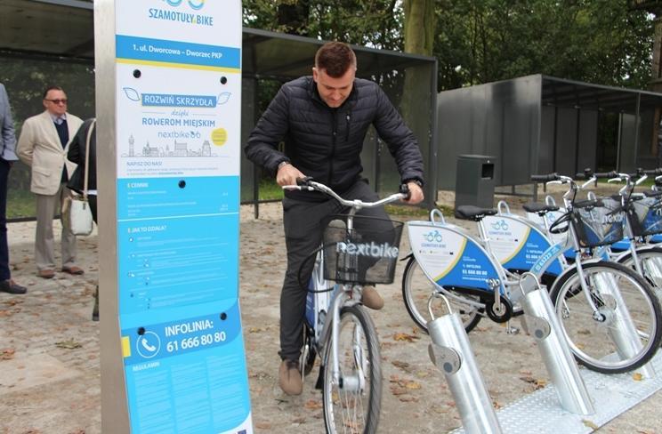 szamotuly bike rower miejski - UMG Szamotuły