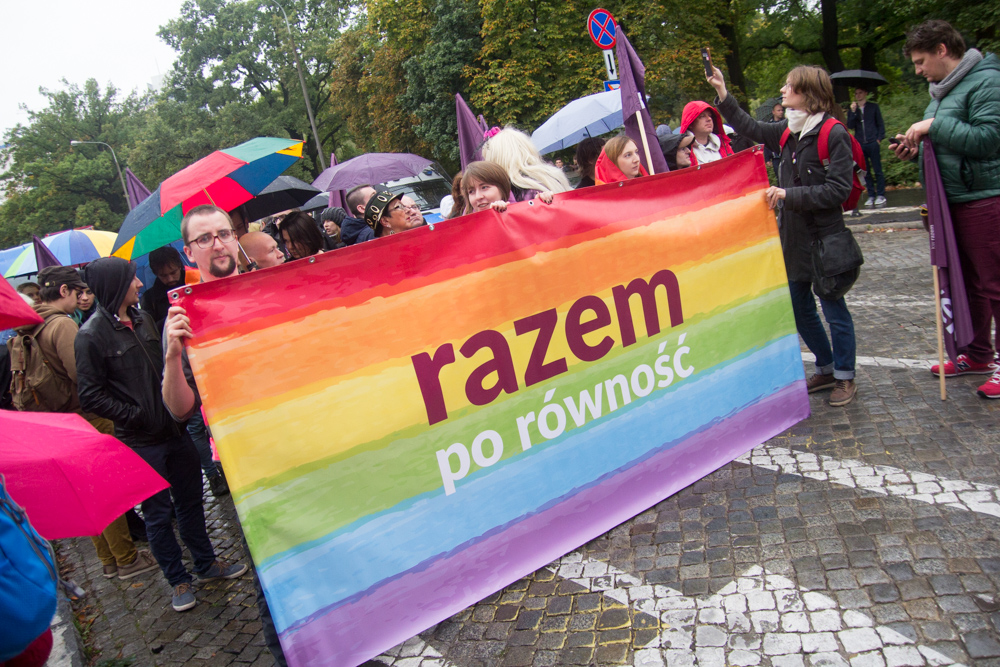 Marsz Równości 2017 - Tomasz Żmudziński