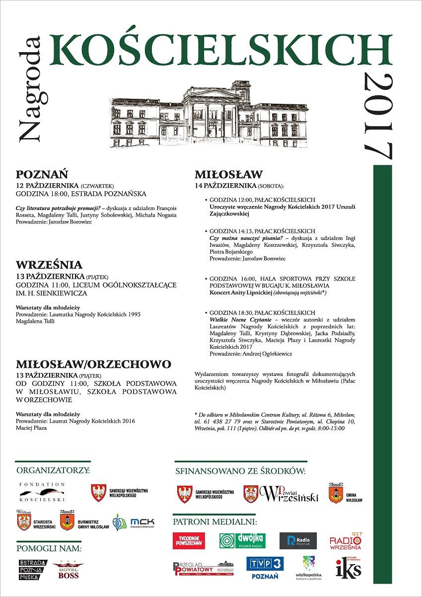 Nagroda_Kos_cielskich_2017_plakat - Materiały prasowe