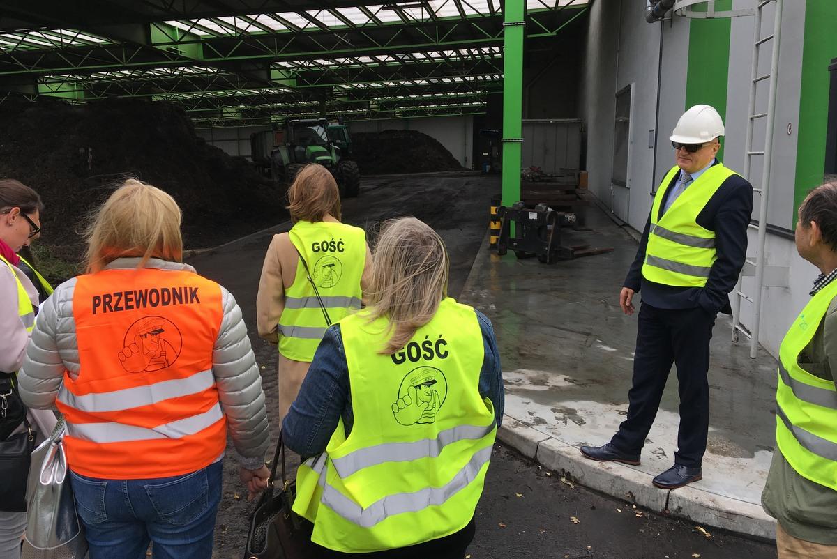 kompostownia suchy las smród zakład przemysłowy - Adam Michalkiewicz