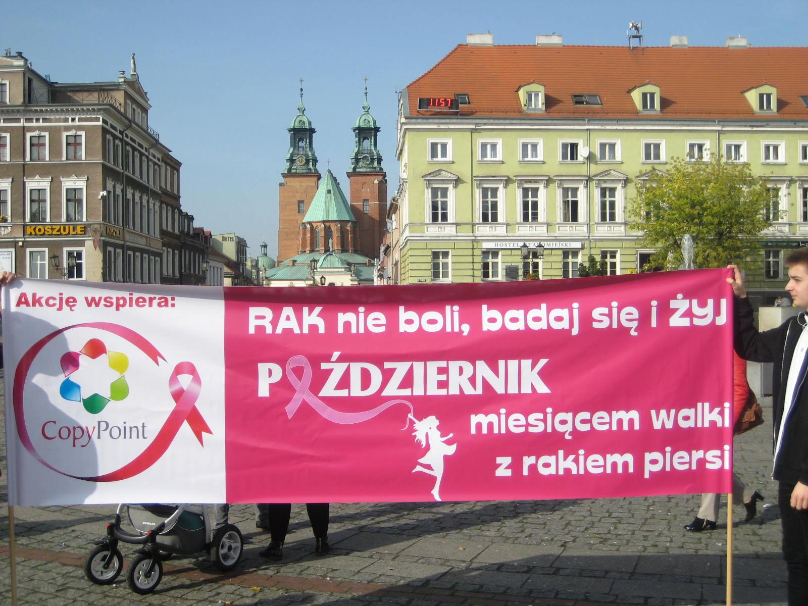 marsz amazonki gniezno rak piersi - Rafał Muniak
