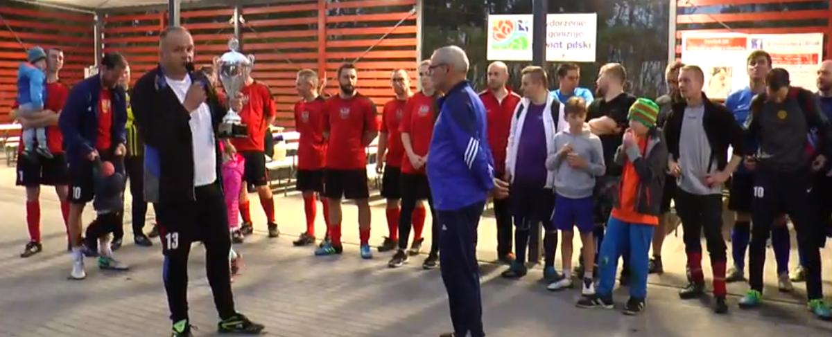 mecz powiat kontra mieszkańcy - Przemysław Stochaj