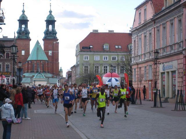 Bieg Europejski Gniezno 2011 - Rafał Muniak