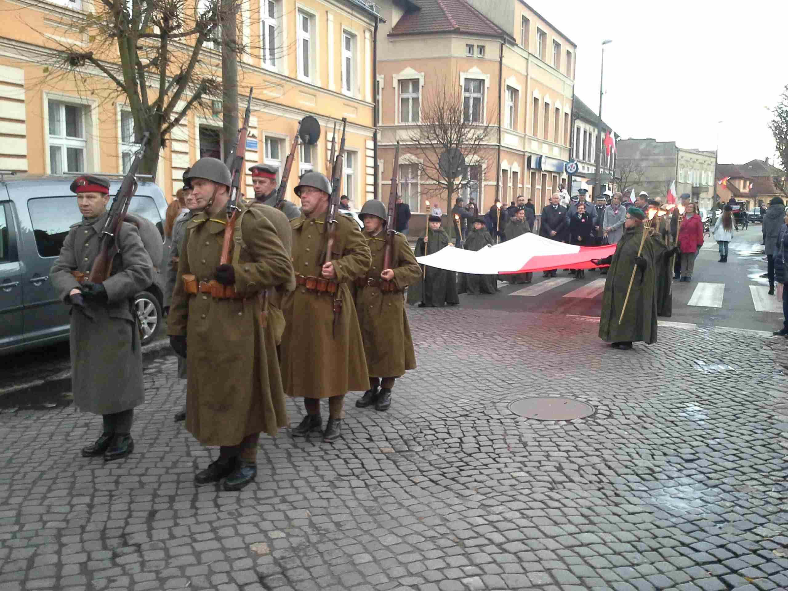 marsz niepodleglosci 11 listopada nowy tomysl - Andrzej Ciborski