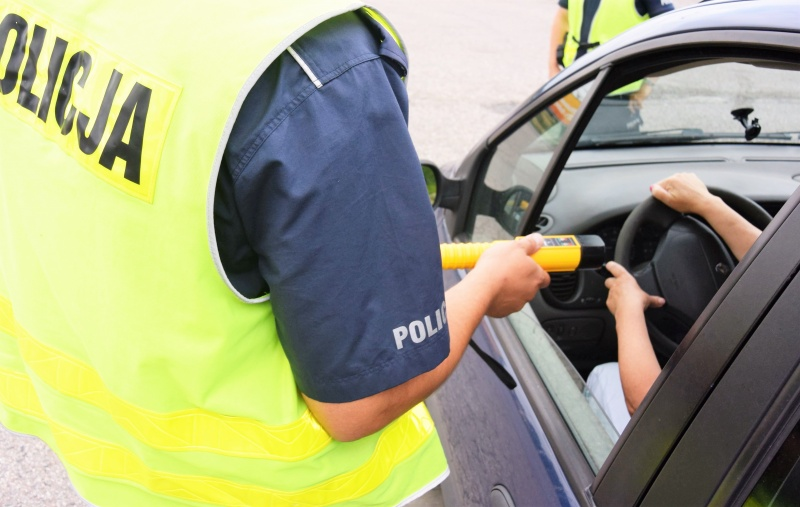 badanie alkomatem - Komenda Powiatowa Policji w Kole