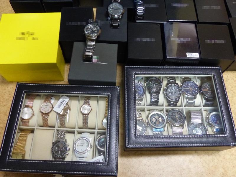 podrobione zegarki - Komenda Powiatowa Policji w Kaliszu